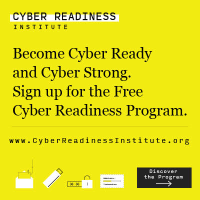 Cyber Readiness Institue banner
